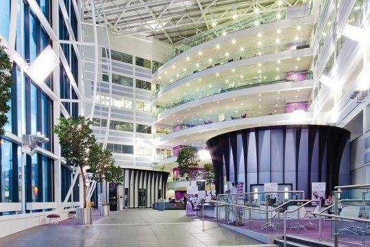 Central campus atrium