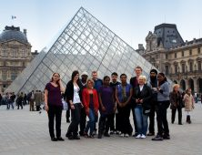 Louvre french trip