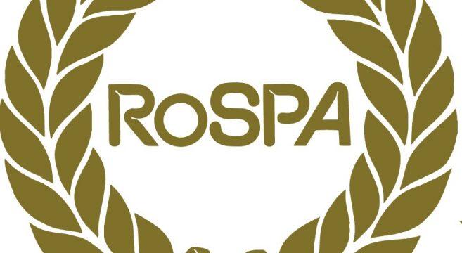 Rospa gold Order of Distinction badge
