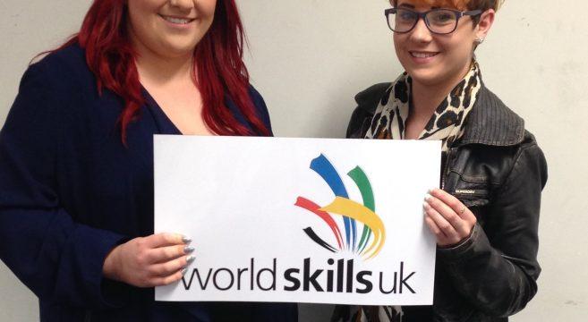 Two World Skills regional finalists