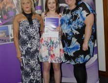 Award winner with college lecturers