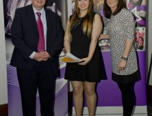 Award winner with head of department and college principal
