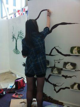 Preparing for artshow 2015