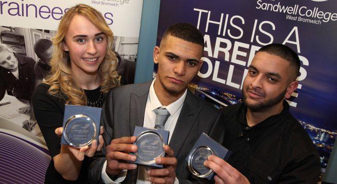 Three award winners