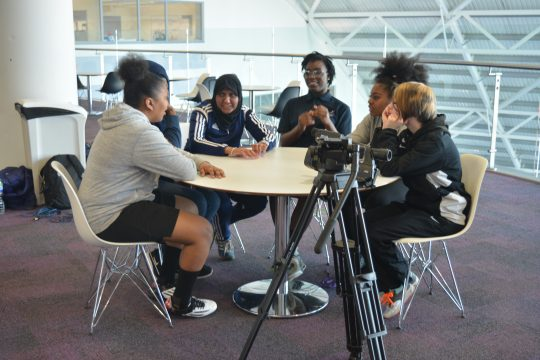 BBC talk with Annie