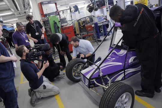 Sion Simon visits Automotive