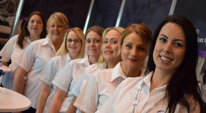 Dental team at NEC