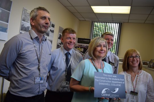 Group with Faye Lambert LM comm eng