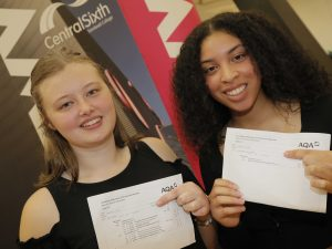 A LEVEL RESULTS - 100% PASS RATE IN 17 SUBJECTS!
