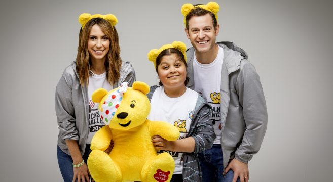 Sabah pictured with Alex and Matt