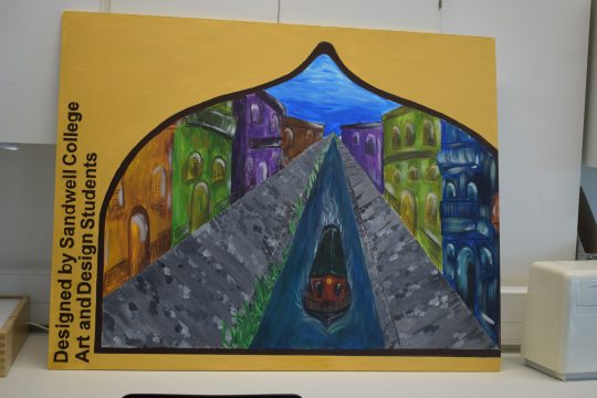 Artwork created by students