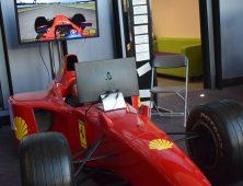 Red Ferrari F1 Car
