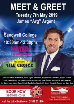 Meet & Greet James Argent