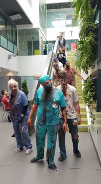 Zombies at the university science centre
