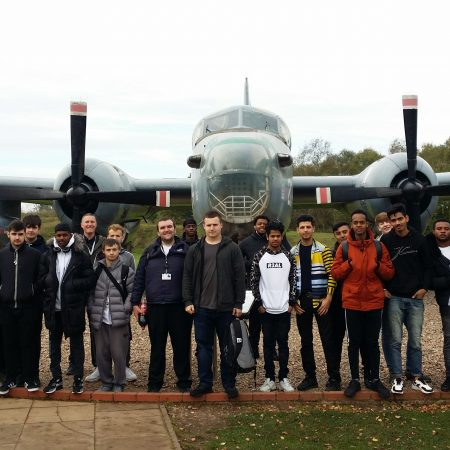 AVIATION TECHNOLOGY INSIGHT FOR STUDENTS AT RAF COSFORD