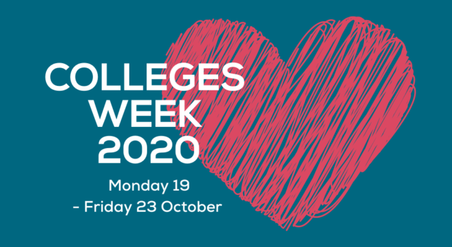 Colleges Week 2020 Banner