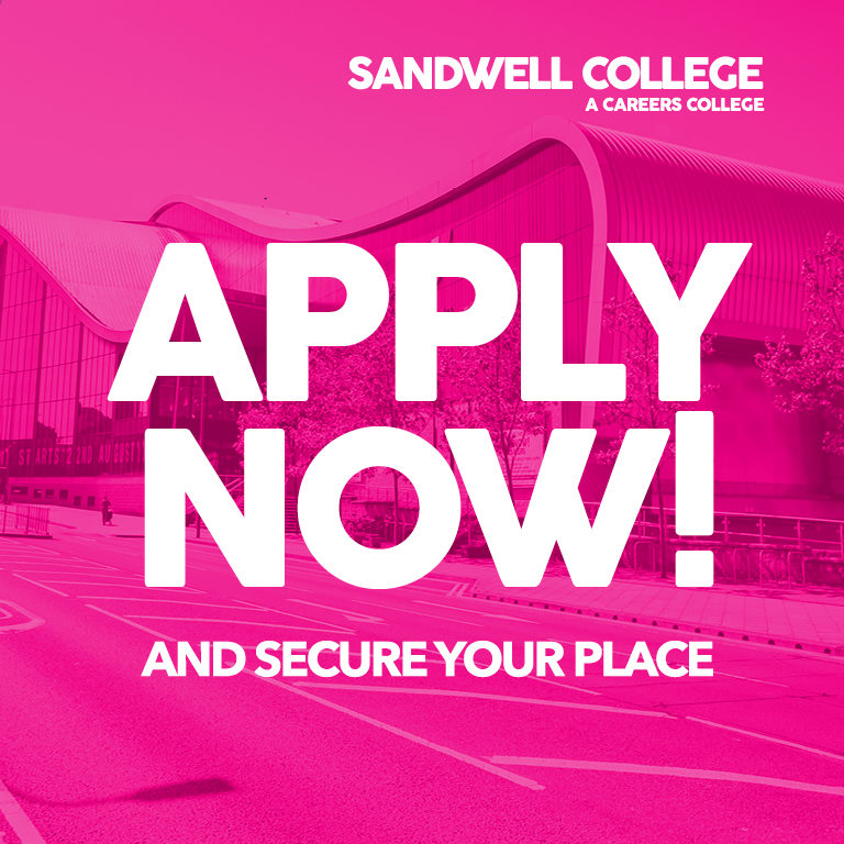 Click here to apply now and secure your place