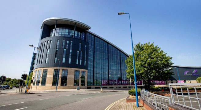 Pictured: Sandwell College